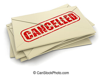 Cancelled letters
