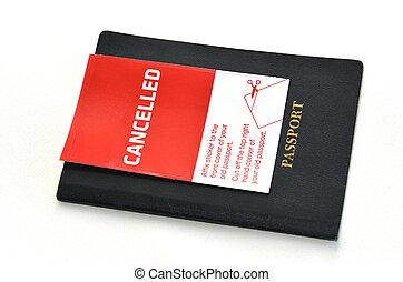 Cancelled Passport