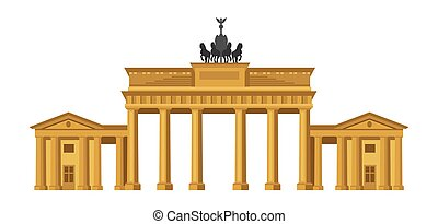 cancello, brandenburg, berlin.