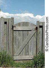 cancello, giardino