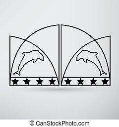 cancello, icona