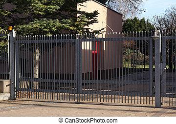 cancello, metallo