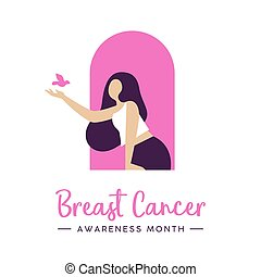 Cancer Awareness concept for health care