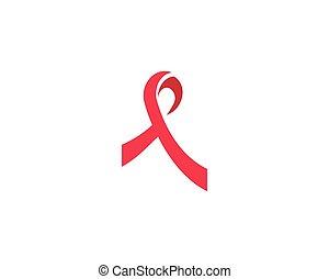 ribbon logo vector template