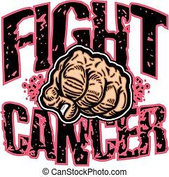 cancer, baston