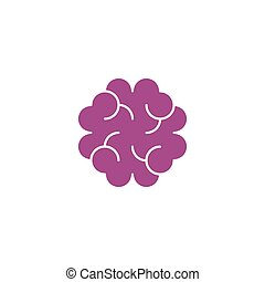 cancer cell tissue icon vector logo symbol