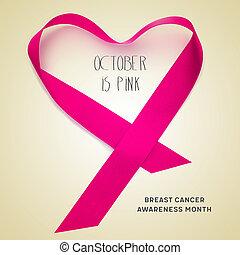 cancer, conscience sein, mois