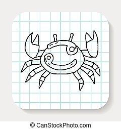cancer Constellation doodle