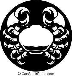 Cancer Crab Zodiac Horoscope Sign