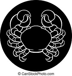 Cancer Crab Zodiac Sign