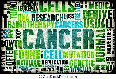 Cancer Medical Illness Disease as Concept Art
