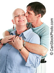 Cancer Patient and Her Husband