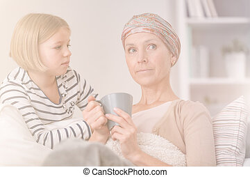 Cancer recovery at home