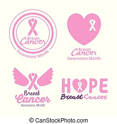 cancer set icons