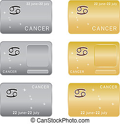 Cancer  Zodiac sign.