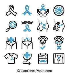 cancro da próstata, ícone