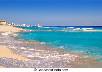 cancun, karib-tenger, tengerpart, tengerpart, türkiz