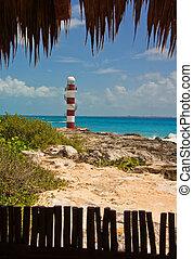 Cancun lighthouse