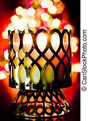 candela, vacanza, luci