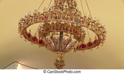 Candelabra - video footage of a candelabra