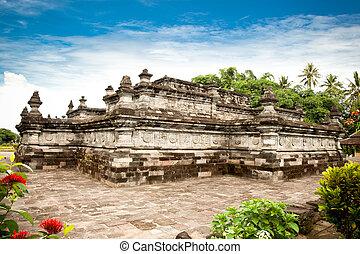 Candi Penataran temple in Blitar, east Java, Idonesia. -...
