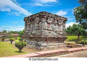 Candi Penataran temple in Blitar, Indonesia. - Candi...