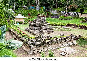 Candi Songgoriti, Bali, Indonesia. - Candi Songgoriti in...