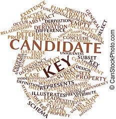 candidat, clã©