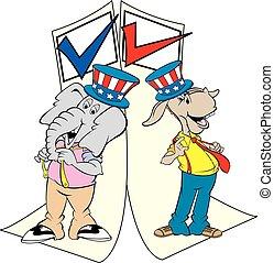 candidates on ballot
