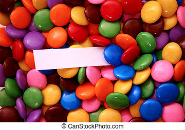 candies (add your me - assorted candies with a message - add...
