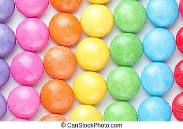 Candies multi colored