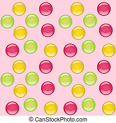 candies seamless background
