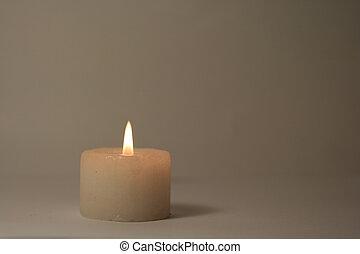 Candle - A burning candle