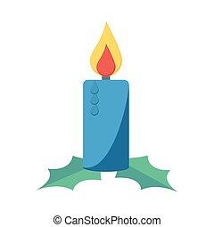 candle flat icon