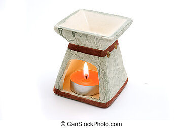 Candle for aromatherapy