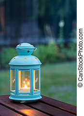 Candle in a Lantern