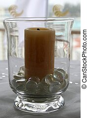 Candle in a Vase