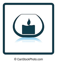 Candle In Glass Icon