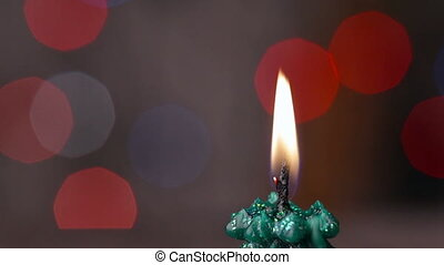 Candle light, romantic background