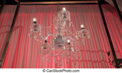Candle-like, Glass, Chandelier Ceiling Lights