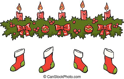 Candle socks