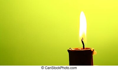 Candle close-up