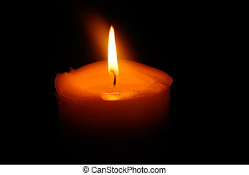 Candle symbol of peace