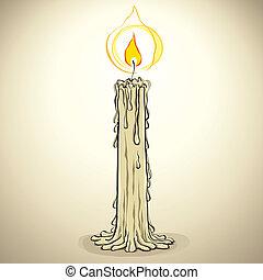 candle.