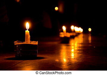 Candlelight - Candle in the Dark On Christmas day