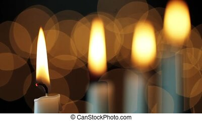 Candlepower Loop - Loop with bright flickering candles and...