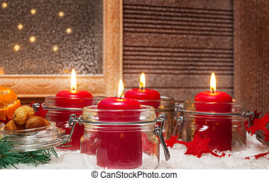 Candles, 4th Advent