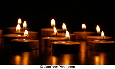 candles candle burn romantic scented still-life fire