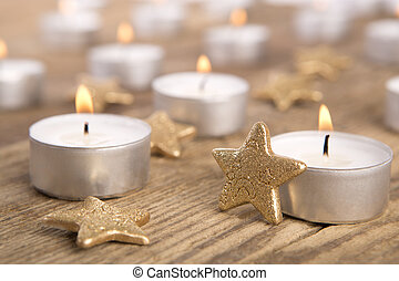 Candles, christmas decoration