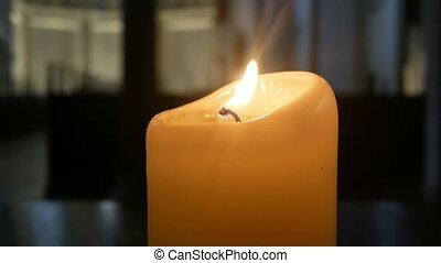 Candles church light dark - Candles church romance dark...